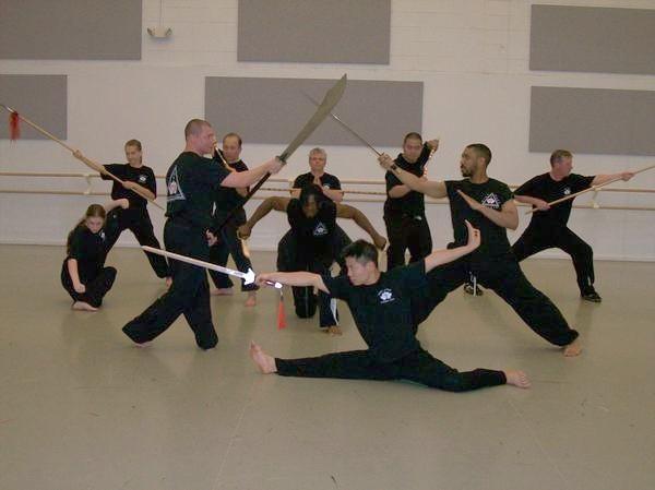 Dark Lotus Martial Arts class